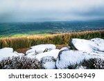 Snow On Ilkley Moor  Yorkshire