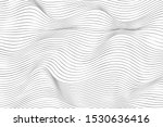 wave lines pattern abstract... | Shutterstock .eps vector #1530636416