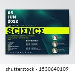 science conference business... | Shutterstock .eps vector #1530640109