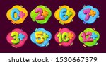 age restrictions vector symbols ... | Shutterstock .eps vector #1530667379