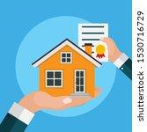 real estate concept.  buy house ...   Shutterstock .eps vector #1530716729
