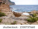 outdoor furniture. armchair and ...   Shutterstock . vector #1530737660