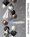 christmas background with... | Shutterstock .eps vector #1530779420