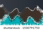abstract curved wavy lines with ...   Shutterstock .eps vector #1530791753