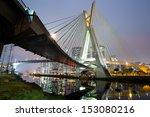 Estaiada Bridge   Sao Paulo...