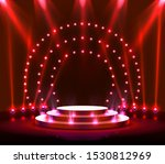 stage podium with lighting ...   Shutterstock .eps vector #1530812969