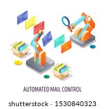 automated email control  vector ...   Shutterstock .eps vector #1530840323