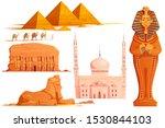 ancient egypt vector cartoon... | Shutterstock .eps vector #1530844103