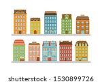 set of modern multi storey...   Shutterstock .eps vector #1530899726