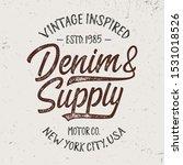 vintage textured design for t... | Shutterstock .eps vector #1531018526