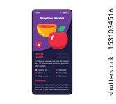 baby food recipes smartphone...