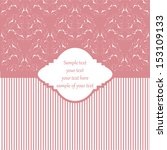 perfect for invitations and... | Shutterstock .eps vector #153109133
