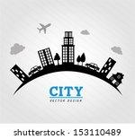 city design over gray...