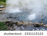 Pong Dueat Hot Spring In The...