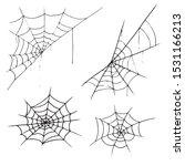 set web icon. vector... | Shutterstock .eps vector #1531166213