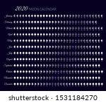 moon illumination and moon age... | Shutterstock .eps vector #1531184270