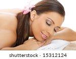 portrait of beautiful young... | Shutterstock . vector #15312124