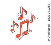 vector cartoon music note icon...   Shutterstock .eps vector #1531241369