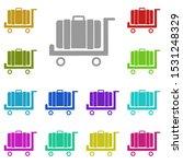 suitcase  cargo  luggage multi...