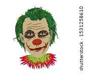 Horror Man Vector Illustration  ...