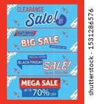 set of sale banners | Shutterstock .eps vector #1531286576