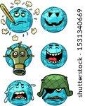 Character Planet Earth. Set A...