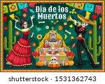 dia de los muertos altar and... | Shutterstock .eps vector #1531362743