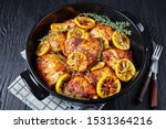 Baked Chicken Thighs With...