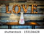 Image Of A Wedding Cake With...