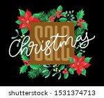 vector holidays lettering.... | Shutterstock .eps vector #1531374713