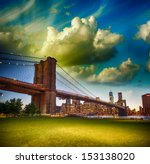 The Brooklyn Bridge As Seen...