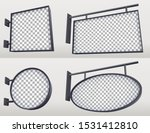 set of lightboxes for outdoor... | Shutterstock .eps vector #1531412810