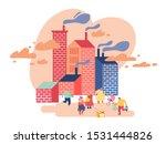 environment toxic gas pollution ...   Shutterstock .eps vector #1531444826