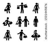 Stick Figure Male And Female...
