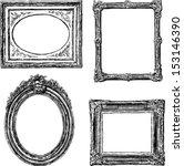 old frames | Shutterstock .eps vector #153146390