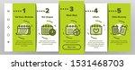 schedule onboarding mobile app... | Shutterstock .eps vector #1531468703