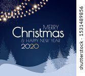 merry christmas and happy new... | Shutterstock .eps vector #1531489856