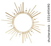 celestial gold element for... | Shutterstock . vector #1531495490