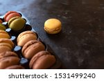 colorful tasty macaroons in... | Shutterstock . vector #1531499240