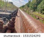 Metallic Rusted Railroad...