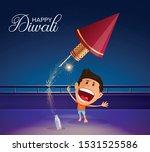 diwali  deepavali or dipavali... | Shutterstock .eps vector #1531525586