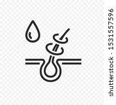 icon of repair hair. vector...   Shutterstock .eps vector #1531557596
