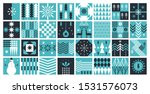 set of squaer abstract pictures ... | Shutterstock .eps vector #1531576073