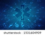 medical abstract background...   Shutterstock . vector #1531604909