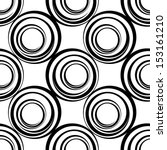 seamless pattern with circles ... | Shutterstock .eps vector #153161210