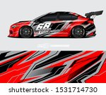 car wrap decal graphics.... | Shutterstock .eps vector #1531714730