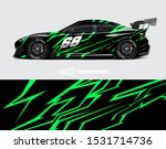 car wrap decal graphics....   Shutterstock .eps vector #1531714736