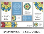 big set of greeting cards or... | Shutterstock .eps vector #1531729823