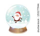 Snow Globe With Christmas...