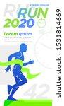 runner design presentation... | Shutterstock .eps vector #1531814669